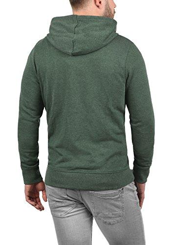 PRODUKT Paladius Herren Sweatjacke Kapuzen-Jacke Zip-Hoodie aus einer hochwertigen Baumwollmischung Meliert Mountain View