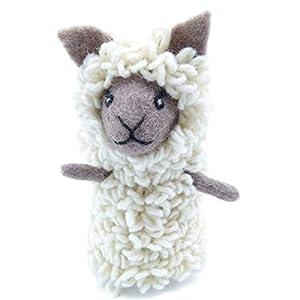 Filztier Tier-Eierwärmer Schaf aus Filz Handarbeit Ostern gefilzte Tierfigur