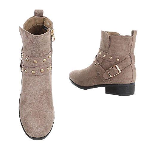 Chaussures Bottines Bronzage Bloc Chelsea Et Bottes Design Femme OCqUxTqE