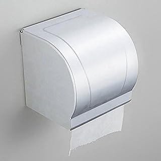 SUNNY KEY Toiletten papier halterung:WC-Rollenhalter Chrom Wandmontage 13 * 23 * 18cm Edelstahl Modern