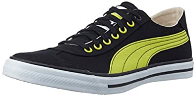 Puma Men's 917 Lo DP Black-Sulphur Spring Mesh Canvas Shoe - 6 UK/India (39 EU)