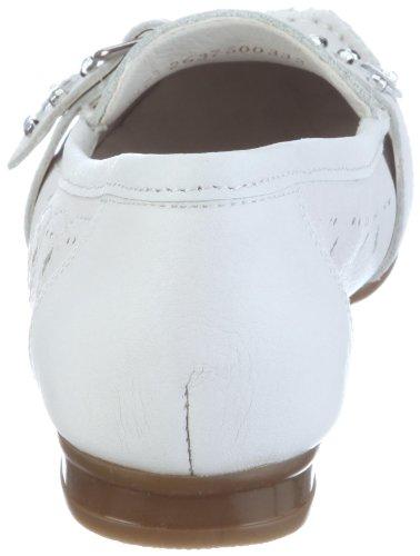 Rieker 40057-80, Mocassins femme Blanc-TR-A-4-85