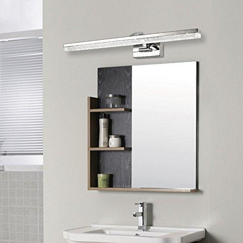 Specchio specchio lampade luci anteriori led bagno bagno moderno cristallo armadio a specchio - Luci per bagno ...