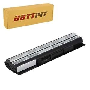 Battpit Batterie d'ordinateur Portable de Remplacement pour MSI BTY-S14 (4400 mah)