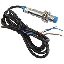 Interruptor de Acercamiento de Sensor de Proximidad Inductivo Cilíndrico de 4mm , 3 Alambres - DC 6-36V PNP NO