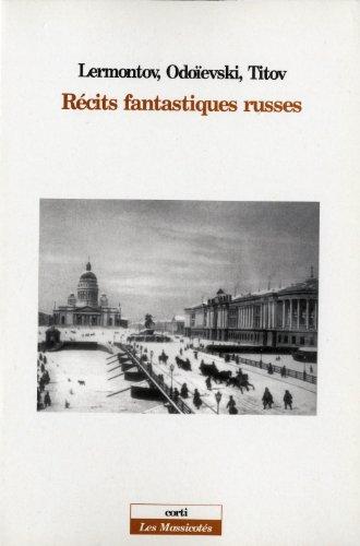 Récits fantastiques russes par Lermontov