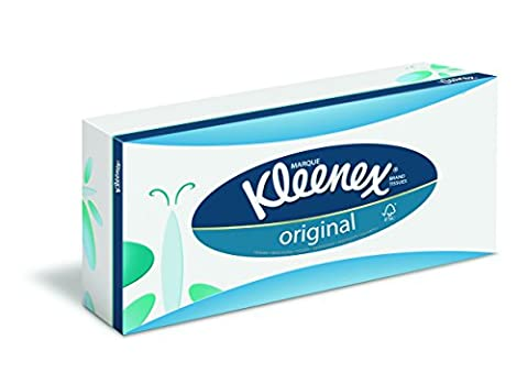 Kleenex 8824 Mouchoirs Original, 864 Mouchoirs à 3 Plis, 12