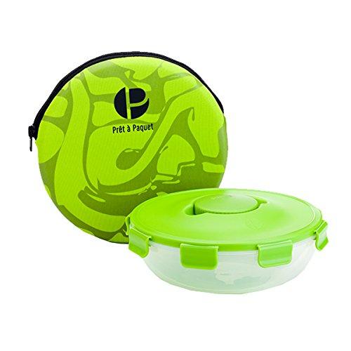 Dressing Halter (Stylischer auslaufsicheres Salat schüssel - Die ideale Größe für Unterwegs - 100% Mikrowellen und Spülmaschinen fest - gesundes Essen zum Mitnehmen - einfach & schnell zu reinigen und zu trocknen.)