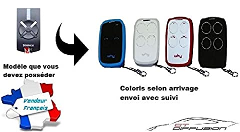 beninca twv remplacée par la Télécommande WHY EVO Version 2017 - envoi gratuit en France - multi fréquence de 280 à 868 mhz pour code fixe et rolling code - pour portail et ou porte de