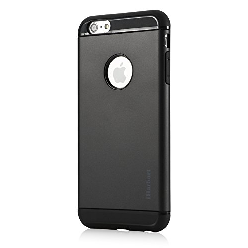 iPhone 6S Plus Hülle - iHarbort® ULTRA Rüstung iPhone 6 6S Plus Hülle Tasche case cover Schutzhülle mit Dual-layer Shock Absorbion funktion iPhone 6 6S Plus Cover (weiß) schwarz