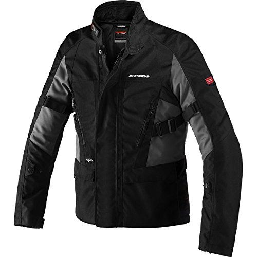 D189-053 L - Spidi Traveler 2 Robust H2OUT Motorcycle Jacket L Black