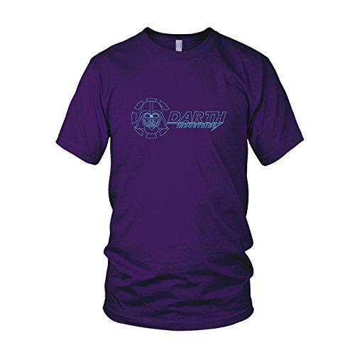 Darth Industries - Herren T-Shirt, Größe: XXL, Farbe: lila