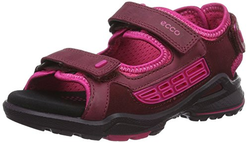 Ecco Biom Sandal, Chaussures Multisport Outdoor Fille Rouge (50286Morillo/Morillo/Beetroot)