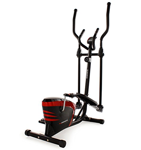KS Cycling Fitnessgerät Crosstrainer Sports, Rot, 202F