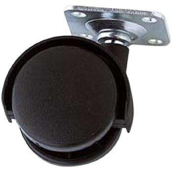 - Pack of 4 30 mm 1.1//4 inch Merriway/™ BH01004 Bulk Hardware Single Wheel Castors Socket Fix