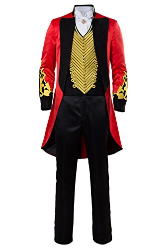 Manfis The Greatest Showman P.T. Barnum 2 Cosplay Performance Uniform Party Suit