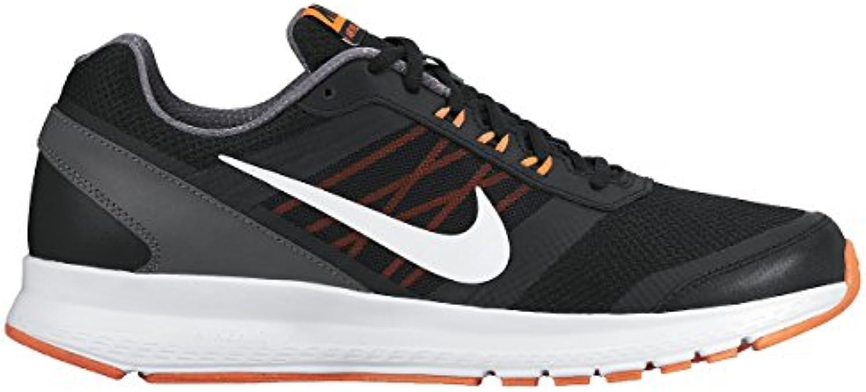 Nike Air Relentless 5 Schwarz/Weiatilde/Hypr Orng/Drk Gry Laufschuh 10 Us
