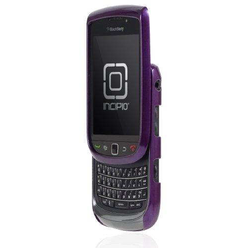 Incipio Feather für Blackberry Torch 9800 - Glänzend Metallic Lila Incipio Feather Für Blackberry