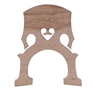 BQLZR Replacement 3/4 Bass Maple Bridge For Double Bass