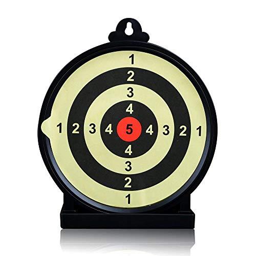 leegoal Shooting Range Zielscheiben, rund, klebrige Dartscheibe für Kinder und Erwachsene, für drinnen und draußen, aus ABS-Kunststoff, 16 x 19 cm