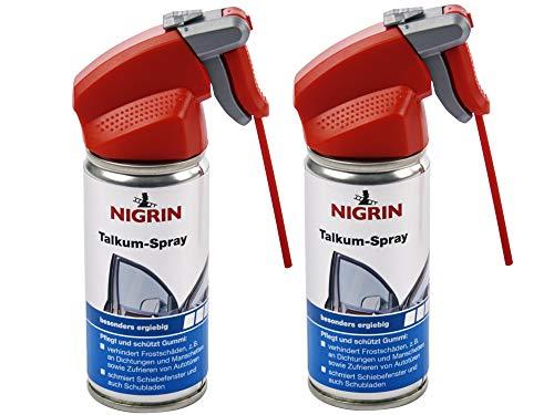 Talkum-Spray 100ml Nigrin 72255, 2er Set