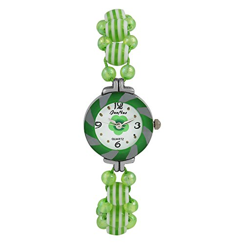 Bracelet Watch,Girls beautiful wrist watch, birthday gift, attractive stylish, Valentine gift (Prt Green)