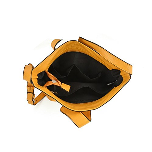 RXF , Sac bandoulière pour femme orange Orange Orange
