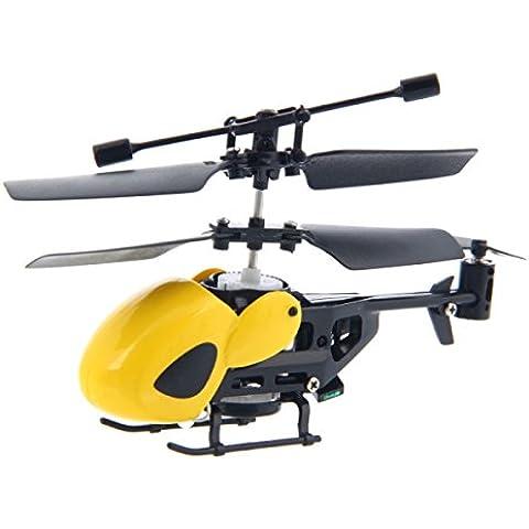 Bluelover QS QS5012 2 canali a raggi infrarossi semi-micro elicottero RC CJ91263