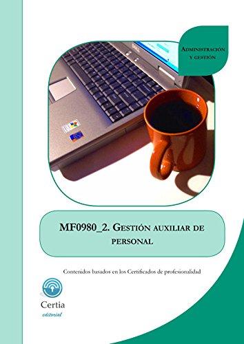 MF0980_2 Gestión auxiliar de personal por Rosa Isorna Potel