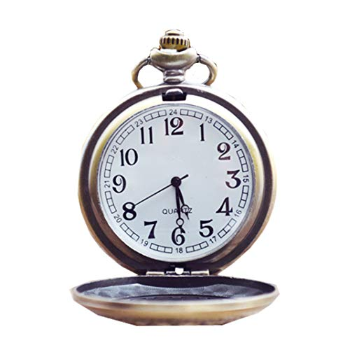 82db0689a23f Reloj de bolsillo con 15 pulgadas de cadena larga para hombres Mechnical  Reloj de cuarzo de