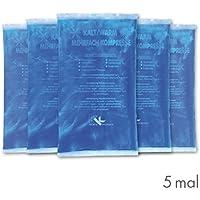 KK-Hygiene Kalt-Warm Kompressen Mehrfachkompresse 5 Stück (16 x 9 cm) mikrowellengeeignet preisvergleich bei billige-tabletten.eu