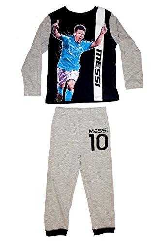 FC Barcelona Jungen-Trikot und Kurze Hose 10 offizielle Kollektion Kindergr/ö/ße Lionel Messi Nr
