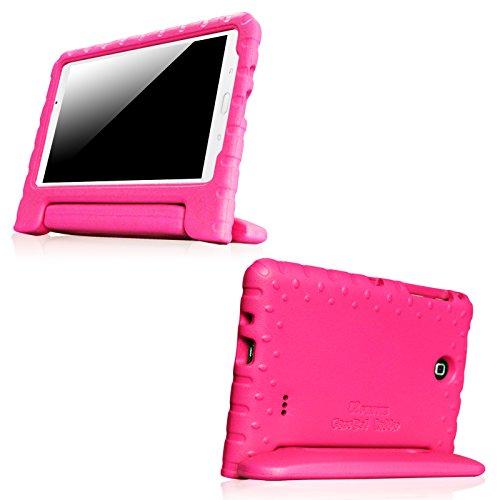 Custodia Samsung Galaxy Tab 4 7.0 - Fintie Custodia Case Cover Protettiva Antiurto per Bambini per Samsung Galaxy Tab 4 7.0' SM-T230 / SM-T235 (7 pollici) Tablet, Magenta