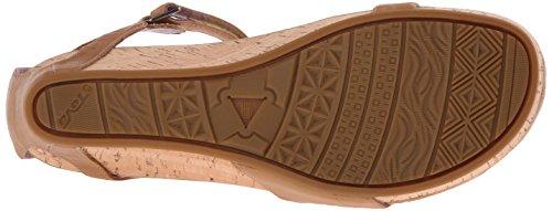 Teva Capri Wedge W's, Sandales de sport femme Beige - Beige (Pearlized Tan 658)