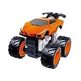 Upxiang Mini Toy Car Frühe Pädagogische Trägheit Rennwagen Modell Kinder Geschenk Spielzeug (Orange)