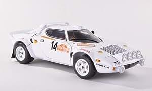 Lancia Stratos HF Rally, No.14, Camel, Rally Sanremo, 1978, Modellauto, Fertigmodell, Sun Star 1:18