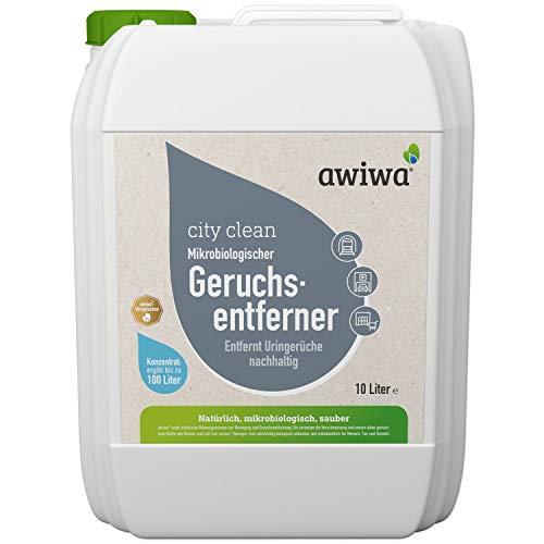 awiwa Geruchsneutralisierer Urin & Uringeruch Entferner - Ideal für Parkhäuser, Passagen, Einkaufszentren etc. (10 Liter)