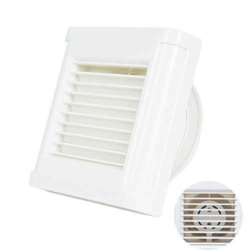 Hon&Guan ø100mm Silent Abluftventilator Badlüfter für Badezimmer (Badlüfter #2) Rahmen Lüfter Motor