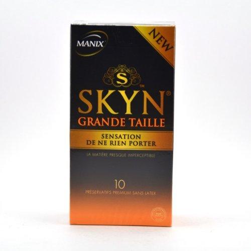 Manix Skyn Large Size 10 Condoms