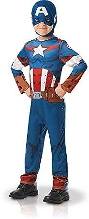 Rubie's Official Marvel Avengers Captain America Classic Child's Costume - Tod