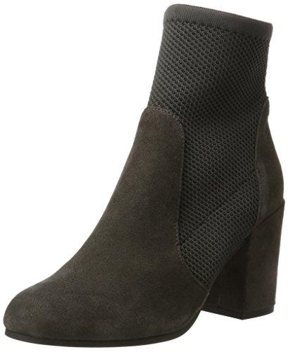 Buffalo London 417-0371 Suede, Bottes Pour Femme Gris (gris 10)