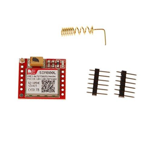Gprs Sim800l Bordo Trasferimento Micro Modulo Porta TTL Di Base GSM SIM Per Arduino