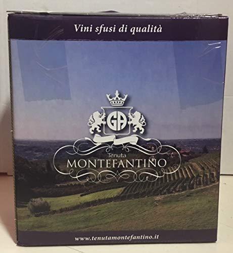 BAG IN BOX 5 LT (2 confezioni da LT 5) Bonaccia vino rosso da uva bonarda