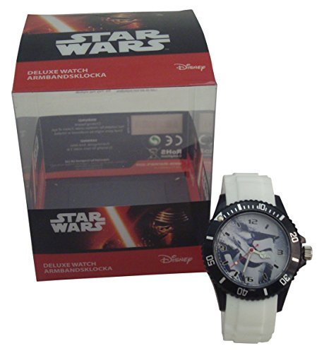 Desconocido Imagine8 1744 – Reloj Deluxe Star Wars, Color Blanco