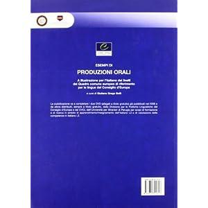 Esempi di produzione orali a illustrazione per l'i