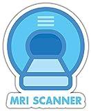 SkyBug Mri Scanner Bumper Sticker Vinyl Art Decal Vinile Adesivo for Car Truck Van Window Bike Laptop