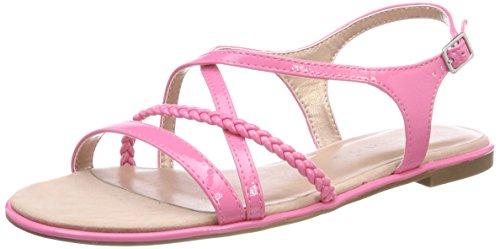 Tamaris Damen 28129 Slingback Sandalen, Pink (Pink Patent), 40 EU
