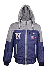 Naughty Ninos Boys Blue Reversible Jacket for size 2-12 Years