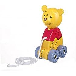 Orangenbaum-Spielzeug - Winnie the Pooh - Hölzerner Zug entlang