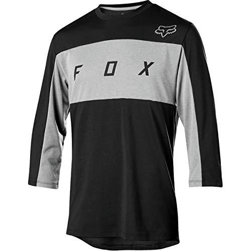 Fox Trail-Jersey 3/4-Arm Ranger Dri-Release Schwarz Gr. XL